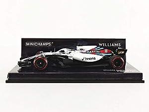 Minichamps 417180018 - Carrito de Carreras de Carreras de Williams Martini, Mercedes FW41, 1:43, 2018, Color Blanco