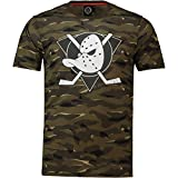 NHL T-Shirt Anaheim Mighty Ducks Digi Camo Camouflage Logo Eishockey (XL)