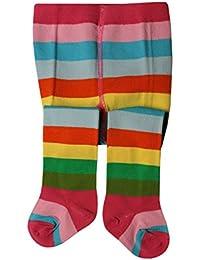 Weri Spezials Baby und Kinder Strumpfhosen Regenbogen-Farben
