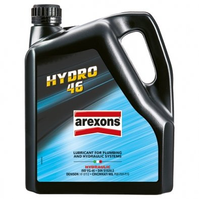 OLIO AREXONS HYDRO 46 4 LITRI ISO VG46 DIN 51524