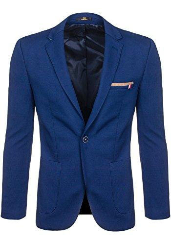 BOLF Herrensakko Anzug Blazer Classic RIPRO 1652 Blau M [4D4] |
