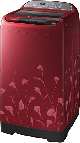 Samsung WA65H4020HP/TL Fully-automatic Top-loading Washing Machine (6.5 Kg, Lily Pattern Red)