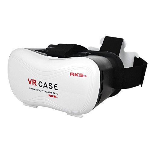 AptoFun 3D VR Brille (3D VR Virtual Reality Headset) für 3D Filme und Spiele, kompatibel mit 3.5-5.5 inch/zoll (8.89-13.97cm) iPhone/Android Smartphone (iPhone SE, iPhone 6/6s, iPhone 6/6s plus, Samsung Galaxy S7, Samsung S7)