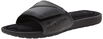 Nike Men's Solarsoft Comfort Slide Sandal, Black/Anthracite, 12 B(M) US