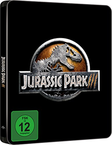 Filme Jurassic Park (Jurassic Park 3 - Limited Steelbook Edition [Blu-ray] [Limited Edition])