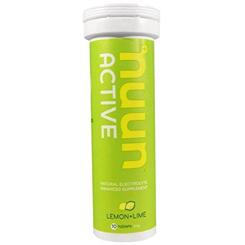 Nuun Aktive Hydration Elektrolyt Drink Tablets, Lemon and Lime -