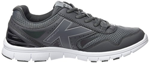 Kelme Seattle Flat 5.0, Sneakers Basses Homme Gris (Antracita / Black)