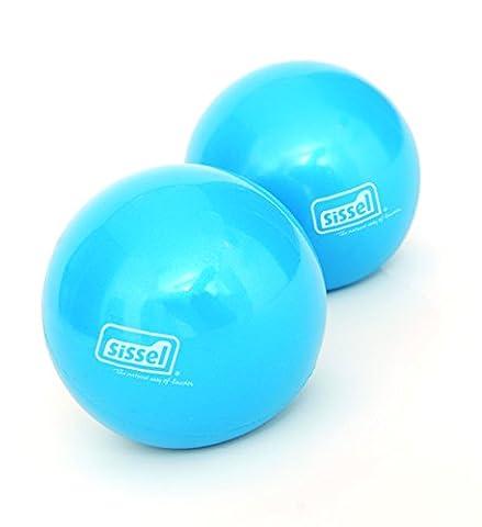 SISSEL Pilates-Small Props Toning Ball Set, blau, 450g (Pilates Ball)