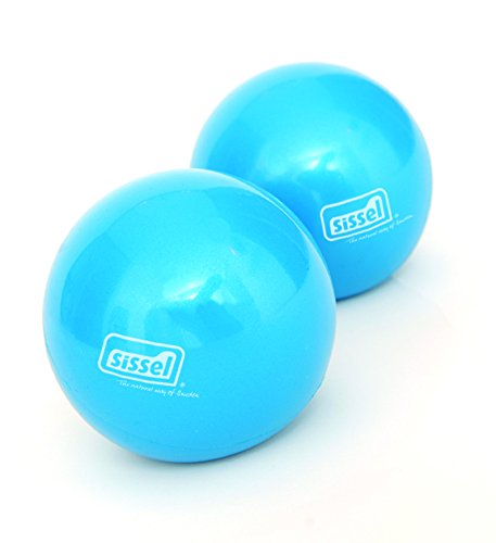 SISSEL Pilates-Small Props Toning Ball Set, blau, 450g
