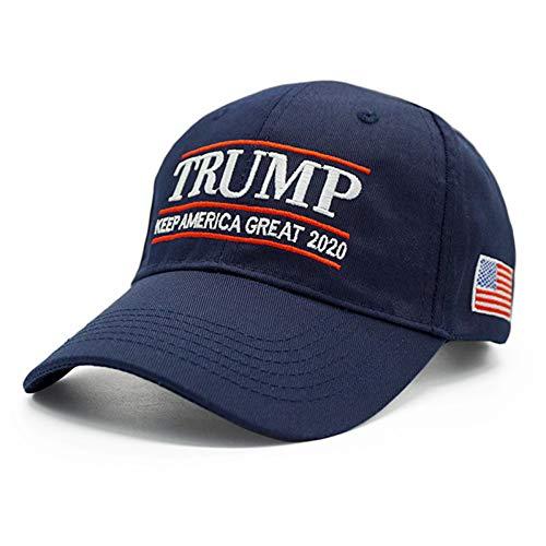 ENGXING Flaggen-Baseballmütze Präsidenten-Donald Usa Keep America Great Snapback Dad KAG Trucker Caps - Usa-mesh-hut