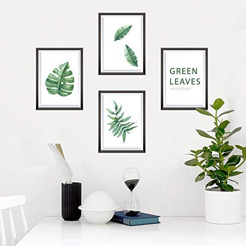 Wandaufkleber abnehmbare blatt serie foto rahmen kleine frische esszimmer veranda dekoration kreative - Runde Esszimmer-serie