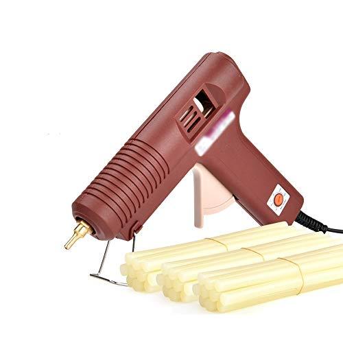 Xing zhe Heißkleber Pistole mit 10/30 Klebestift 100W Industriequalität elektrische Heißkleber Pistole schnelle Aufheiztechnologie, geeignet für DIY Kunsthandwerk Dekoration, zu Hause schnelle Reparat