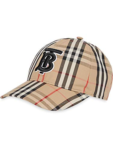 BURBERRY Herren 8017283 Beige Baumwolle Hut