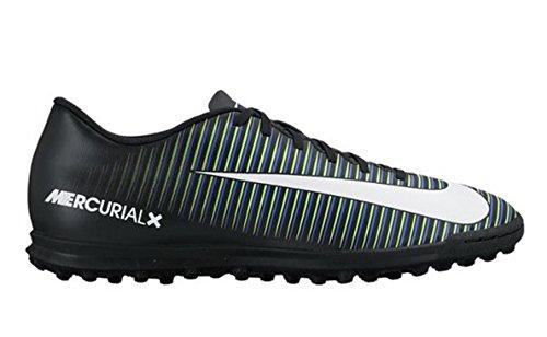 Nike 831971-014, Chaussures de Football en Salle Homme Noir