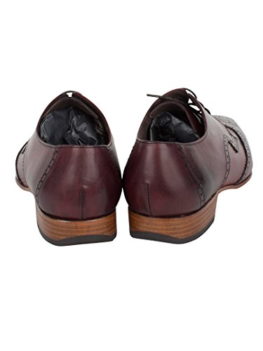 Jeffery West Homme Escoba Kenda Chaussures, Rouge Rouge