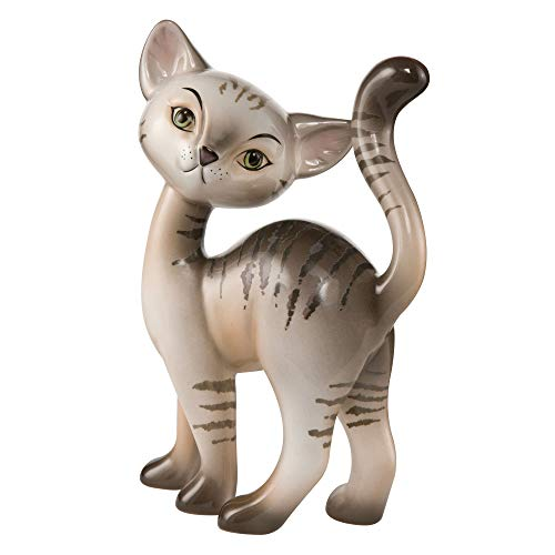 Goebel - Tabby Kitty Charming - Dekofigur - Katze - Porzellan - Höhe 20 cm -
