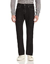 Levis Mens 511 Slim Fit Jeans (6901778303260_18298-0095_38W x 34L_Black)