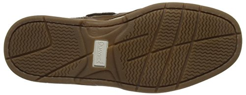 Quayside Cape, Chaussures Bateau Homme Brown (Walnut)