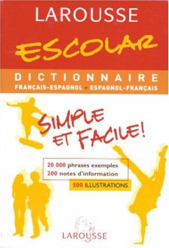 Escolar français/espagnol par Larousse