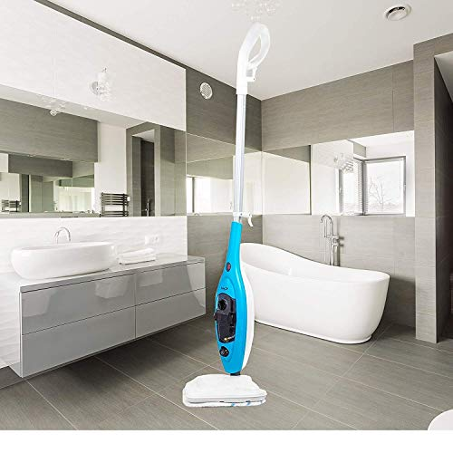 JOLTA Aqua Eco Dampfreiniger 10-in-1 Dampfmop Dampfbesen Handdampfreiniger steam cleaner steam mop (JOLTA Dampfmop 10-in-1)