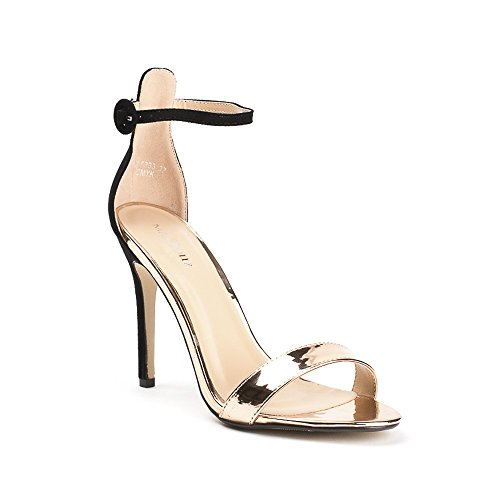 Ideal Shoes ,  Sandali donna Champagne