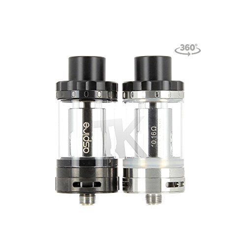 Aspire Cleito 120 Tank 2ml Nicotine Free, 0mg Nicotine (stainless steel)
