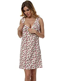 Italian Fashion IF Damen Stillnachthemd Merlin 0335
