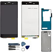 Shinefuture LCD display Touch Screen Digitizer Assembly for Sony Xperia Z3 D6603 D6643 D6653 L55u L55t, [Importado de Reino Unido]