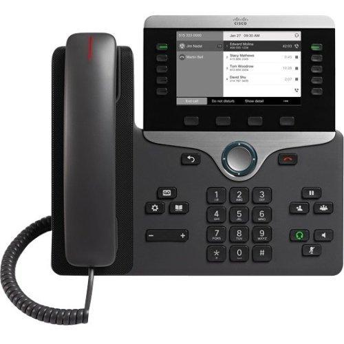 Cisco 8811 Terminal conexión cable LCD Negro - Teléfono