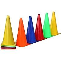 Set de 10x conos, 38 cm, 5 colores