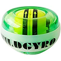 SaySure - Gyroscope LED Wrist Power Force Ball Grip Ball Arm Muscle Exercise Strengthener Speed Meter 5 Colors - GMN-BG-SPT-000468 EtuGrIg