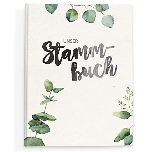 bigdaygraphix Stammbuch der Familie Familienstammbuch Evergreen Love