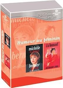 Michèle Bernier : Le Démon de midi / Anne Roumanoff : A la Roumanoff - Coffret 2 DVD