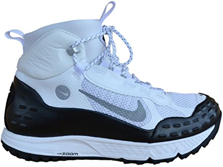 Nike Sneakers Turnschuhe Air Zoom Sertig '16 weissszlig Silber Schwarz