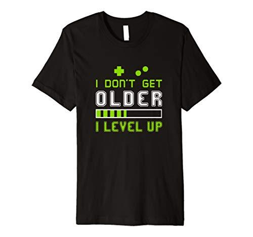 Ich nicht älter, groß, mit Gamer-T-Shirt