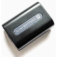 Maxsima - NP-FH40, NP-FH50 Compatible 1050mAh Camcorder Battery for SONY DCR-DVD106, DCR-DVD108, DCR-DVD109, DCR-DVD110, DCR-DVD115, DCR-DVD150, DCR-DVD306, DCR-DVD308, DCR-DVD310, DCR-DVD406, DCR-DVD408, DCR-DVD410, DCR-DVD450.