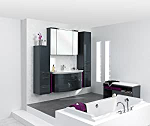 pelipal cassca 3 tlg badm bel set waschtisch unterschrank spiegelschrank inkl. Black Bedroom Furniture Sets. Home Design Ideas