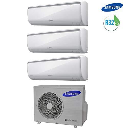 Klimaanlage Samsung MALDIVES TRIAL SPLIT GAS R32 9000+9000+9000 BTU 9+9+9 AJ052RCJ3EG INVERTER A+++