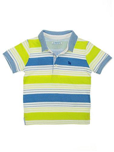 - Polo ka Streifen für Baby - Jungen 12 monate Brokkoli (Baby-brokkoli)