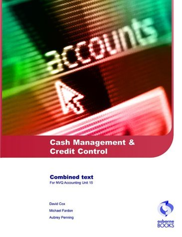 Cash Management and Credit Control (AAT/NVQ Accounting) by Michael Fardon (2004-06-15)