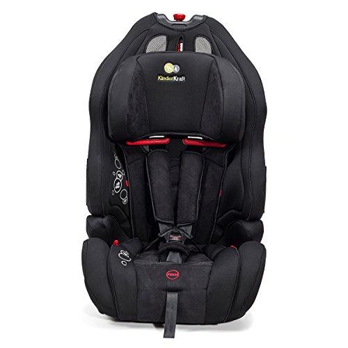 Kinderkraft Smart Up Kinderautositz Autokindersitz Kindersitz 9 bis 36 kg Gruppe 1 2 3 Schwarz