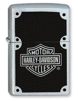 Zippo Accendino Original Classic Harley Davidson HD Carbon Fiber
