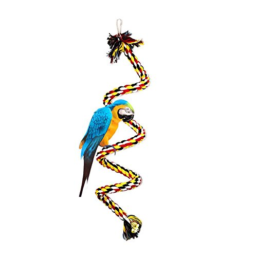 AOLVO Parakeets/Parrot/Cockatiel Toys