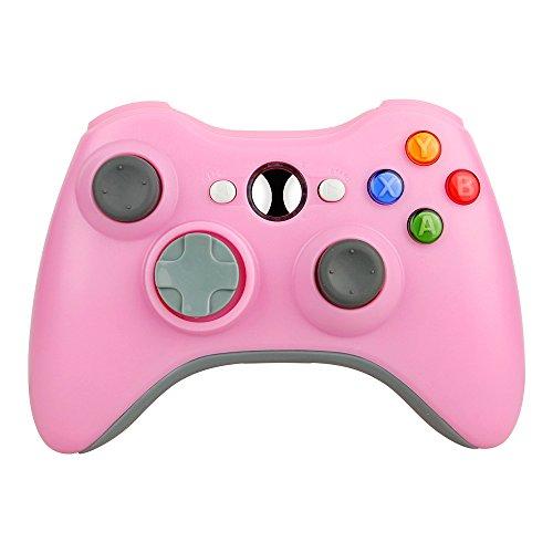 Pekyok Xbox 360 Controller DW20 Wireless Controller Xbox 360 Wireless Gamepad für PC/Xbox 360 (Rosa) Dritteranbieter Produkt (Rosa Für Xbox 360 Konsole)