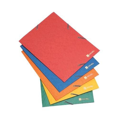 Rexel colt cartellina portadocumenti in cartoncino, chiusura con elastico, giallo