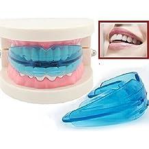 ungfu Mall 1Pc Azul Pino ortopédico Trainer Dental Tooth dispositivo Alinear Brace Boquillas