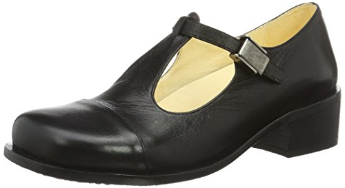 1055-17, Zapatos Mujer, Azul (Marino), 36 EU John W.