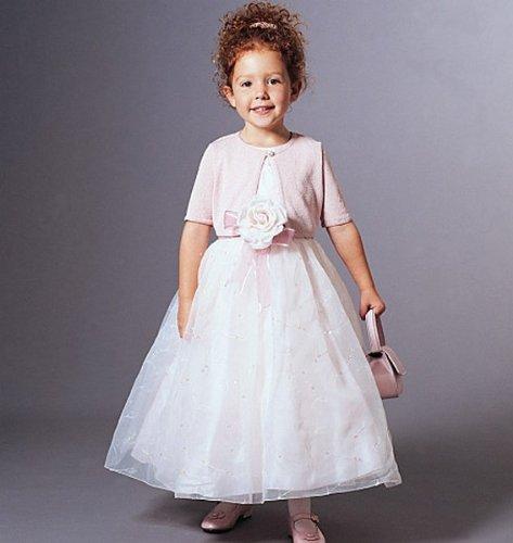 best service 24cd6 15a7d Vogue, Cartamodello 7819 Abito da Cerimonia per Bambina, Taglie:  116/122/128 cm, Lingue Istruzioni: Inglese/Tedesco