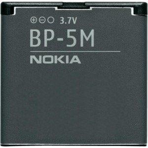 Original-Akku NOKIA BP-5M für Nokia 6500 slide (Slide Nokia 6500)