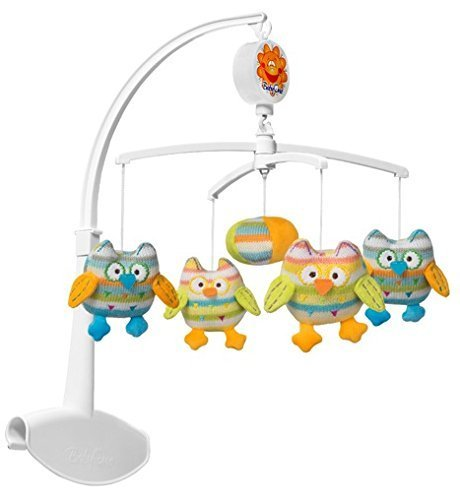 Baby Ono Musical Mobile mit bunten Soft Toys (Eule)